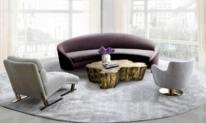 Center Tables Trends For Your Living Room | Covet House has always been at the forefront when it comes to interior design trends. #centertables #moderncentertables