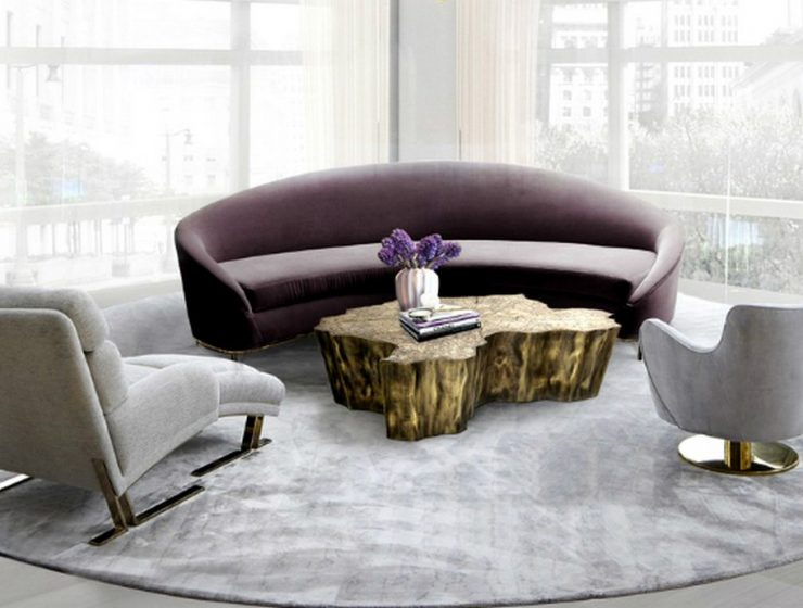 Center Tables Trends For Your Living Room | Covet House has always been at the forefront when it comes tointerior design trends. #centertables #moderncentertables