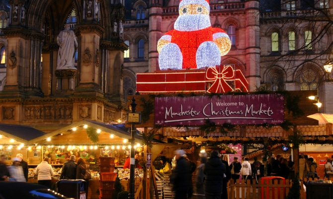 Manchester's Award-Winning Christmas Markets Are Back in Town | The openingsession tothe public was on 10th November, and it will continue until 20th December. #christmas #christmasmarkets #homedecor #homedesign #christmasdecor