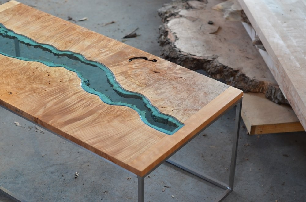 Greg Klassen The Creator of Handmade Pieces And Works of Art | Incredible coffee table designs created by this unique vanguardist mind. #interiordesign #homeinteriors #centertables #coffeetables