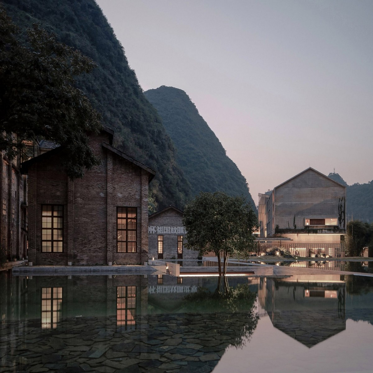 Top 10 Best Hotels of 2017: A Dezeen Selection | Thinking about next years vacation? We show you some awesome locations. #tophotels #hoteldesign #besthotels #luxuryhotels #traveldestinations #centertables best hotels Top 10 Best Hotels of 2017: A Dezeen Selection alila yangshuo vector architects gong dong resort hotel china dezeen sq1 1704x1704