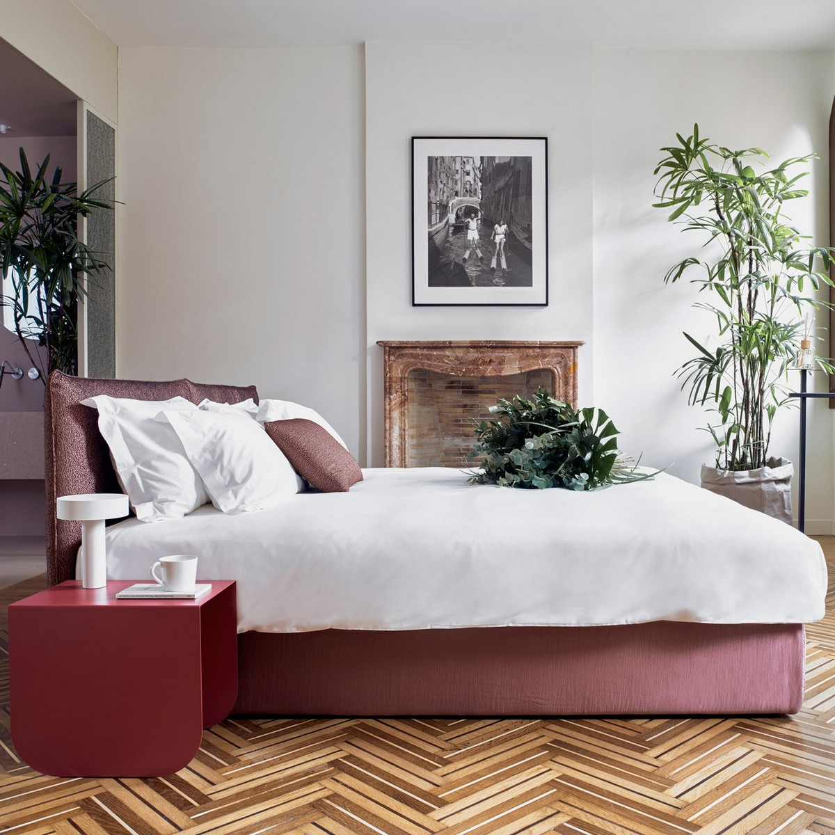 Top 10 Best Hotels of 2017: A Dezeen Selection | Thinking about next years vacation? We show you some awesome locations. #tophotels #hoteldesign #besthotels #luxuryhotels #traveldestinations #centertables best hotels Top 10 Best Hotels of 2017: A Dezeen Selection casa flora diego paccagnella interiors residential apartments venice italy dezeen sq c