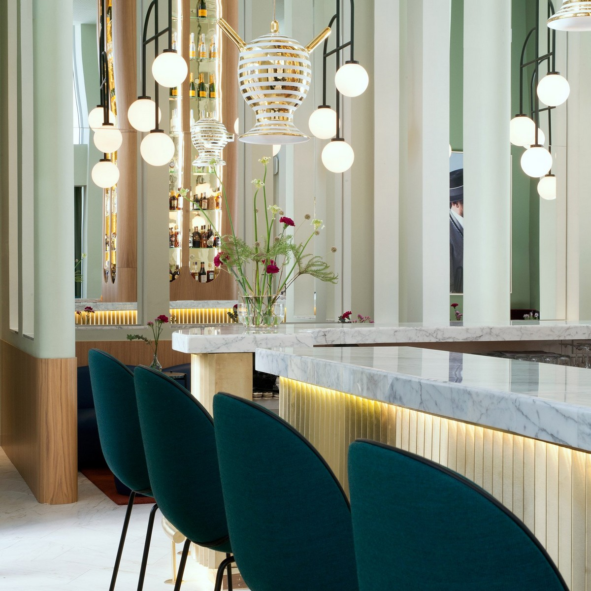 Top 10 Best Hotels of 2017: A Dezeen Selection | Thinking about next years vacation? We show you some awesome locations. #tophotels #hoteldesign #besthotels #luxuryhotels #traveldestinations #centertables best hotels Top 10 Best Hotels of 2017: A Dezeen Selection jaime hayon barcelo torre de madrid hotel spain interiors dezeen sq d
