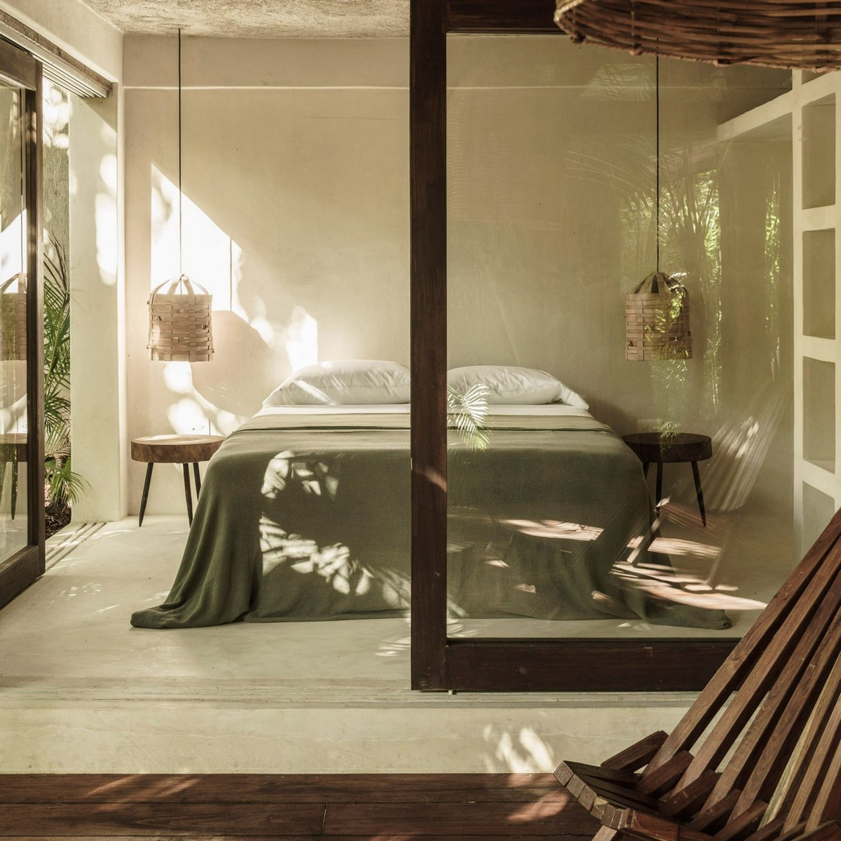 Top 10 Best Hotels of 2017: A Dezeen Selection | Thinking about next years vacation? We show you some awesome locations. #tophotels #hoteldesign #besthotels #luxuryhotels #traveldestinations #centertables best hotels Top 10 Best Hotels of 2017: A Dezeen Selection tulum treehouse colab studio dezeen sq 1704x1704
