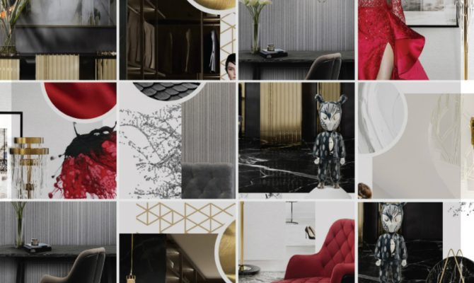 The Trendiest 2018 Colors In The Luxury Design | 2017 is far back, and new trends arrive into the luxury world. Tones this 2018 are based on vibrant colors as red, classic neutrals as black & white and warm golden hues. #interiordesign #colortrends #homeinteriors #designtrends #colordesigns