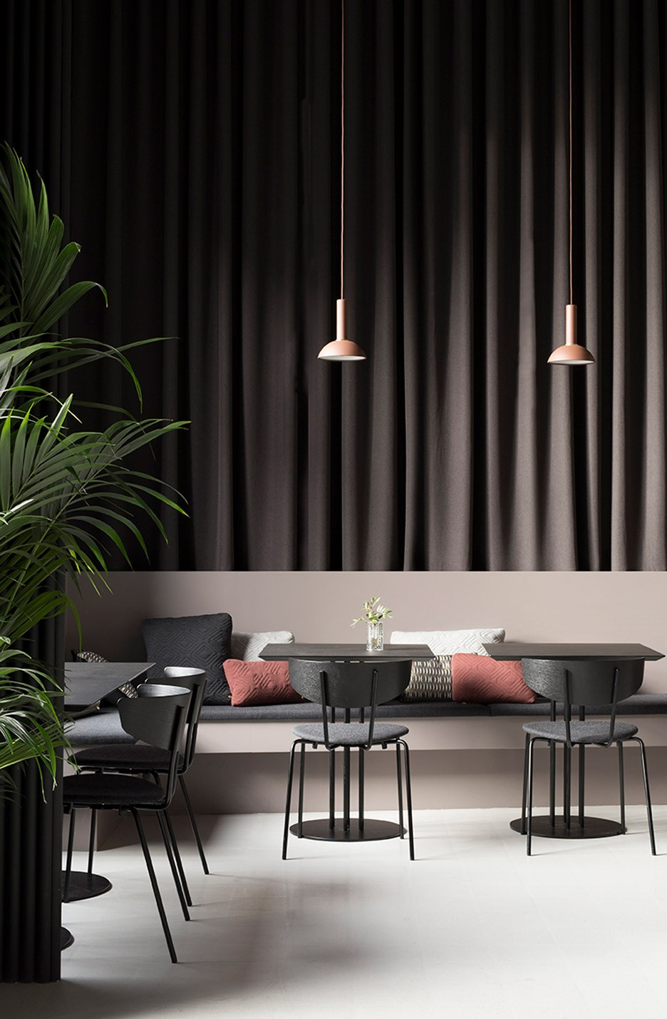 Meet This Mesmerizing Copenhagen Restaurant With Asian And Nordic Inspirations | The Danish homeware brand knownas Ferm Livingwas the head thinker of this marvelous restaurant design. #interiordesign #restaurantdesign #restaurantdecor #interiordecor #designproject