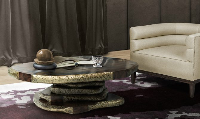 Latza Center Table: The Shape Of Nature Through Brabbu's Vision