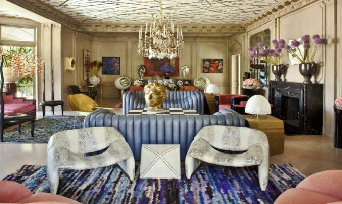 Living Room Inspirations by Top Interior Designer Kelly Wearstler