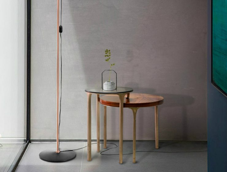 Luray By Brabbu: A Modern Side Table For A Contemporary Decor