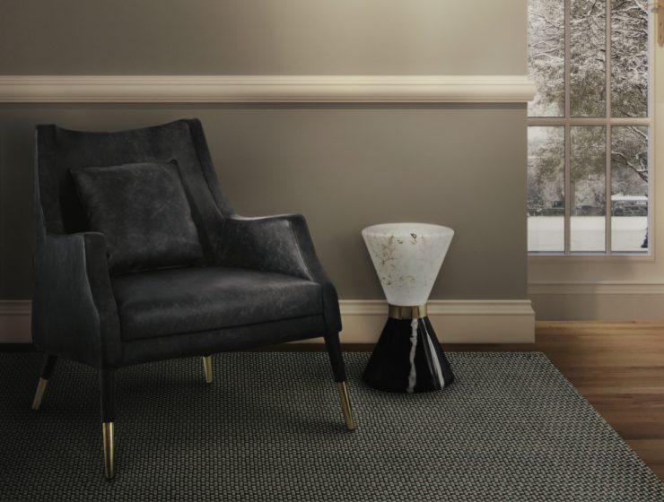 Top Black and White Side Tables