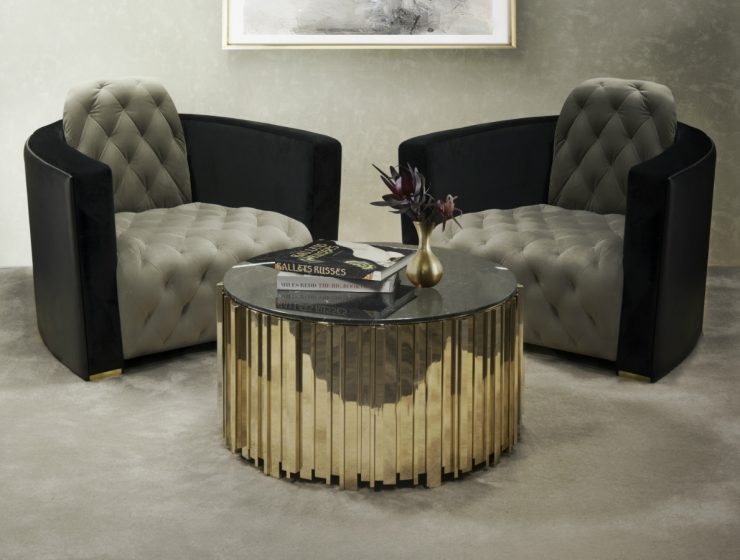 Golden Center Tables That Will Make Your Living Room Shine