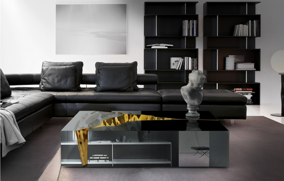 boca do lobo, living room, center table, luxury piece, unique, interior design, gold, richness, ambiances, glamorous, excellence, details, home decor, bold boca do lobo An Exclusive Center Table By Boca do Lobo 3