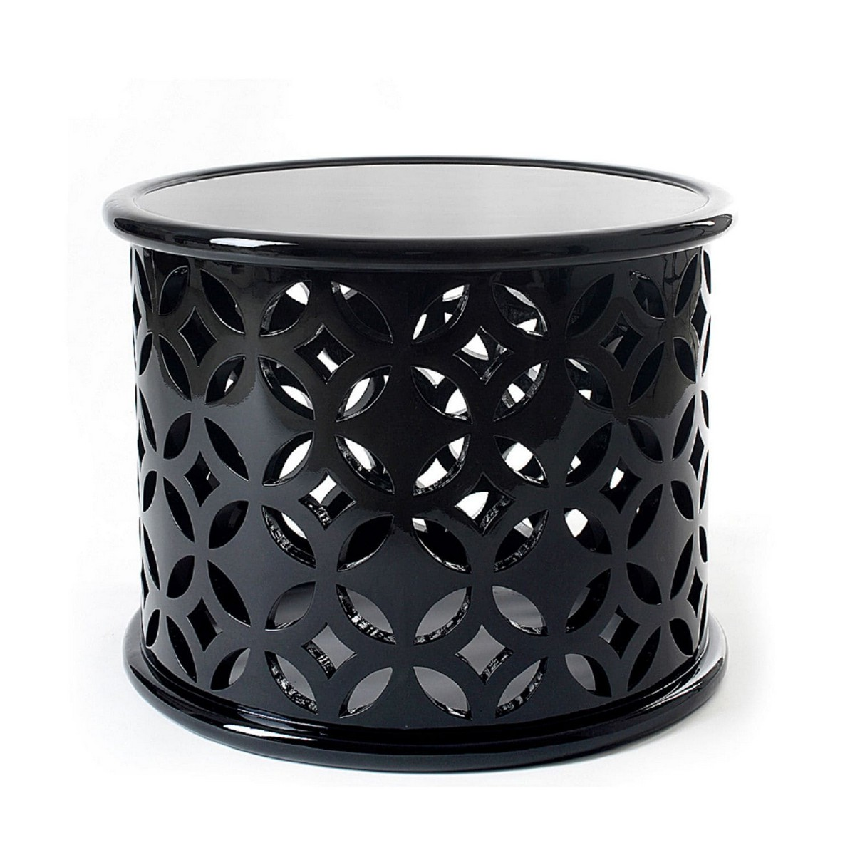 black and white side tables, side tables, black side tables, white side tables, living room, decor, detail, design, modern, luxury, combination, sophisticated,  side tables Black And White Are The Best Colors For A Side Table 66254 11281040