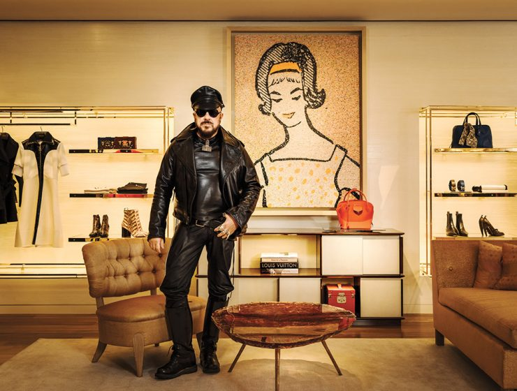Living Room Inspirations by Peter Marino peter marino Living Room Inspirations by Peter Marino Peter Marino Louis Vuitton Mapswonders 740x560