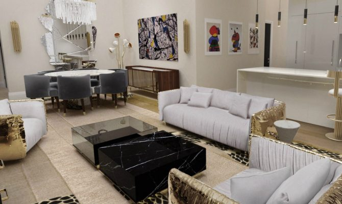 Luxurious Center & Side Tables at Covet NYC