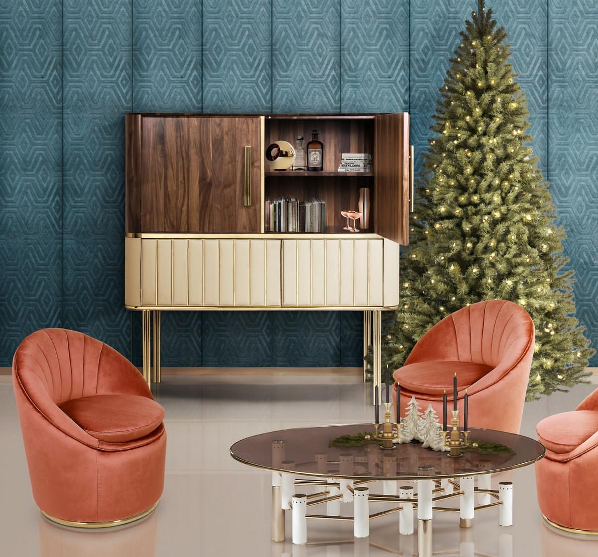 christmas, Christmas season, living room, living room decor, Christmas decor, luxury decor, luxury living room, center tables, interior design, ambiances,