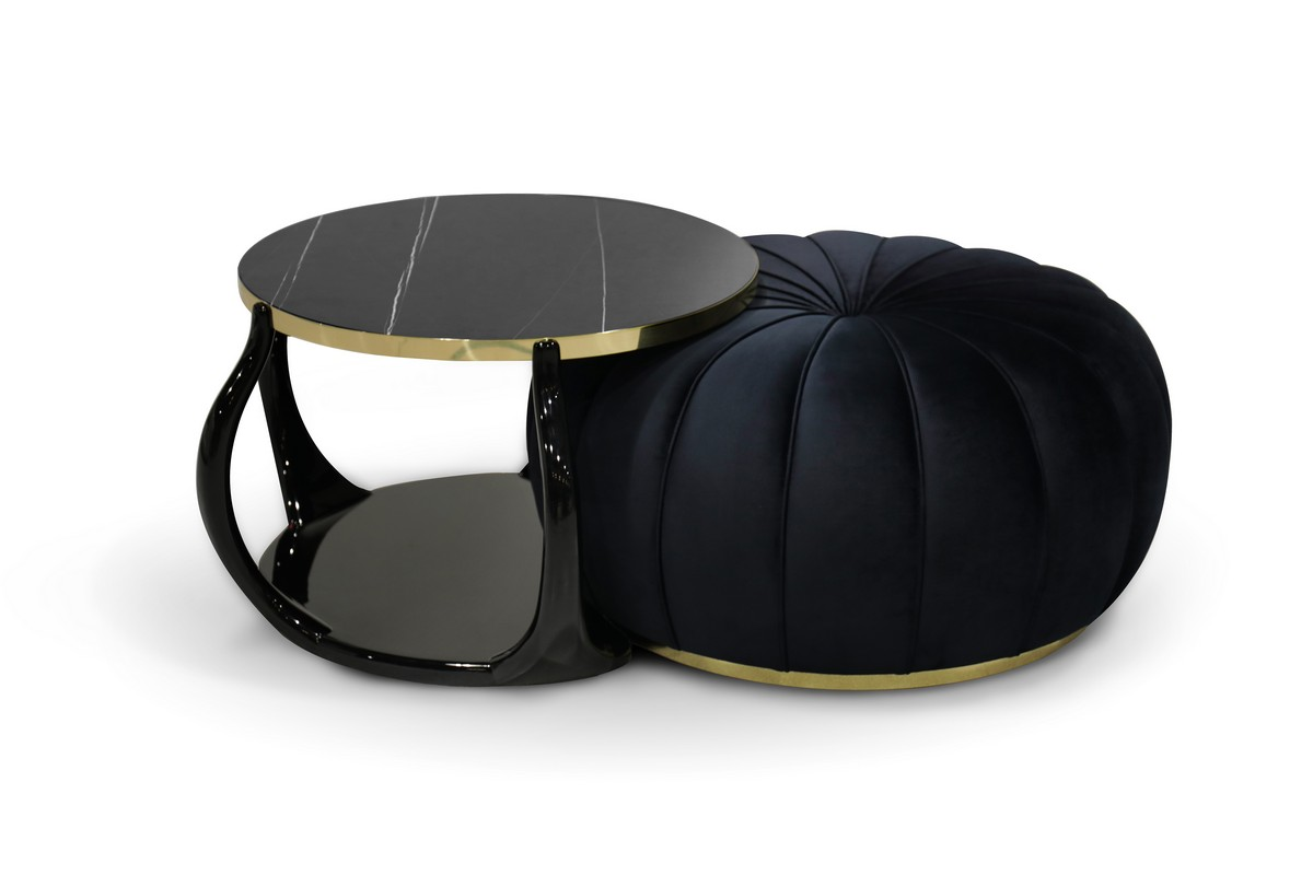 living room, living room decor, living room ideas, center tables, exquisite center tables, luxury center tables, luxury furniture, center tables design,  living room Exquisite Center Tables To Level Up Your Living Room Decor embrace cocktail table ottoman 1