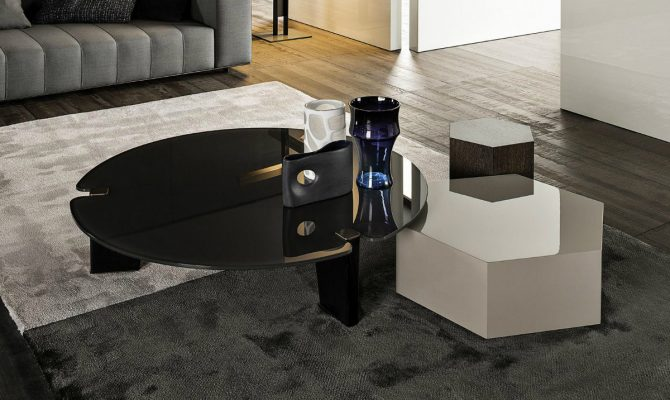 Top Center Tables by Minotti
