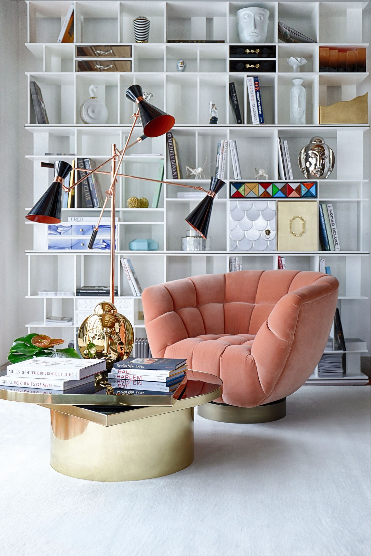 living color, color of the year, living coral 2019, center tables, luxury center tables, interior design, luxury Pantone Living Coral: The Pantone Color For 2019 2 1