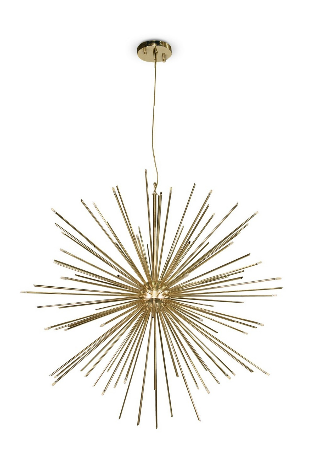 living room, living room ideas, living room decor, mid-century design, mid-century chandeliers, luxury chandeliers, luxury furniture, mid-century lighting,  mid-century chandeliers How Mid-Century Chandeliers Can Elevate Your Living Room Decor Product of the Week Cannonball Mid Century Suspension Lamp 4 1