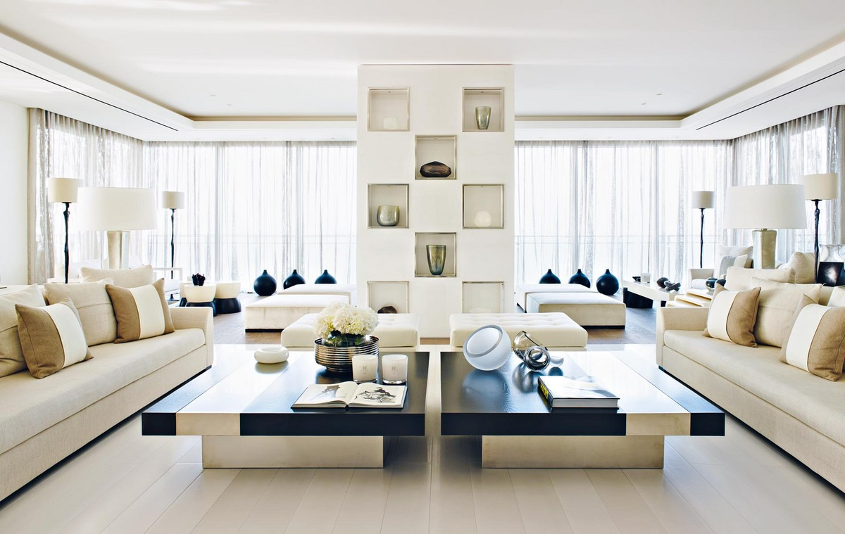 living room ideas, living rooms design, living room decoration, living room inspirations, Kelly Hoppen, interior designer, uk interior designer, modern home kelly hoppen Living Room Inspirations by Kelly Hoppen stunning home beirut