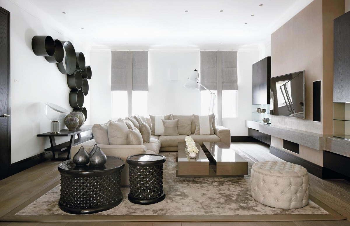 living room ideas, living rooms design, living room decoration, living room inspirations, Kelly Hoppen, interior designer, uk interior designer, modern home kelly hoppen Living Room Inspirations by Kelly Hoppen the family home london3