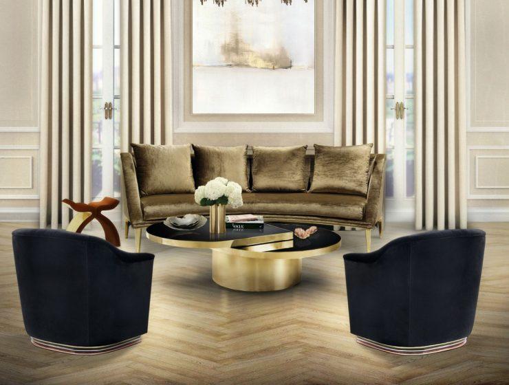 Living Room Design Center Tables
