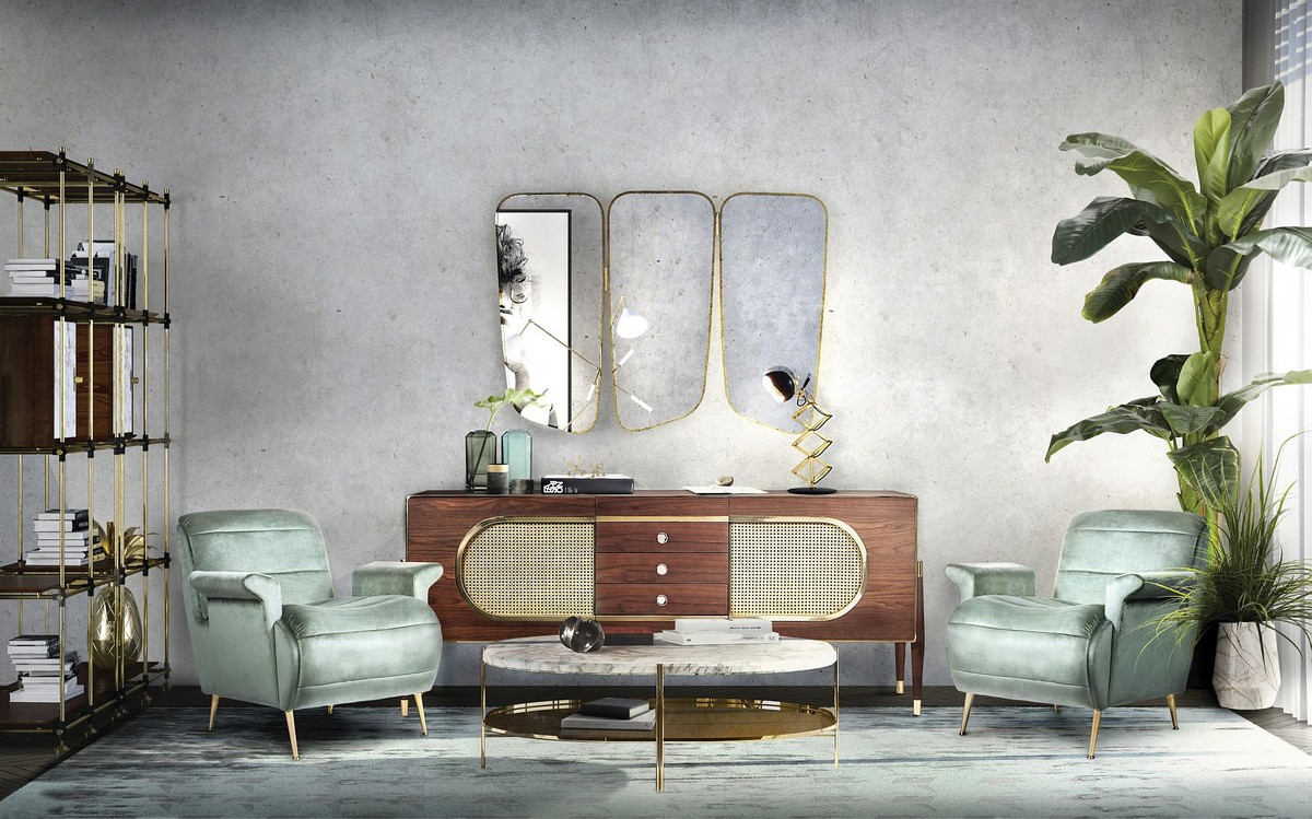 living room, living room ideas, living room decor, living room design, modern mirrors, luxury mirror, bespoke mirrors, luxury mirror designs, exclusive mirrors living room Modern Mirrors For Your Living Room wilde