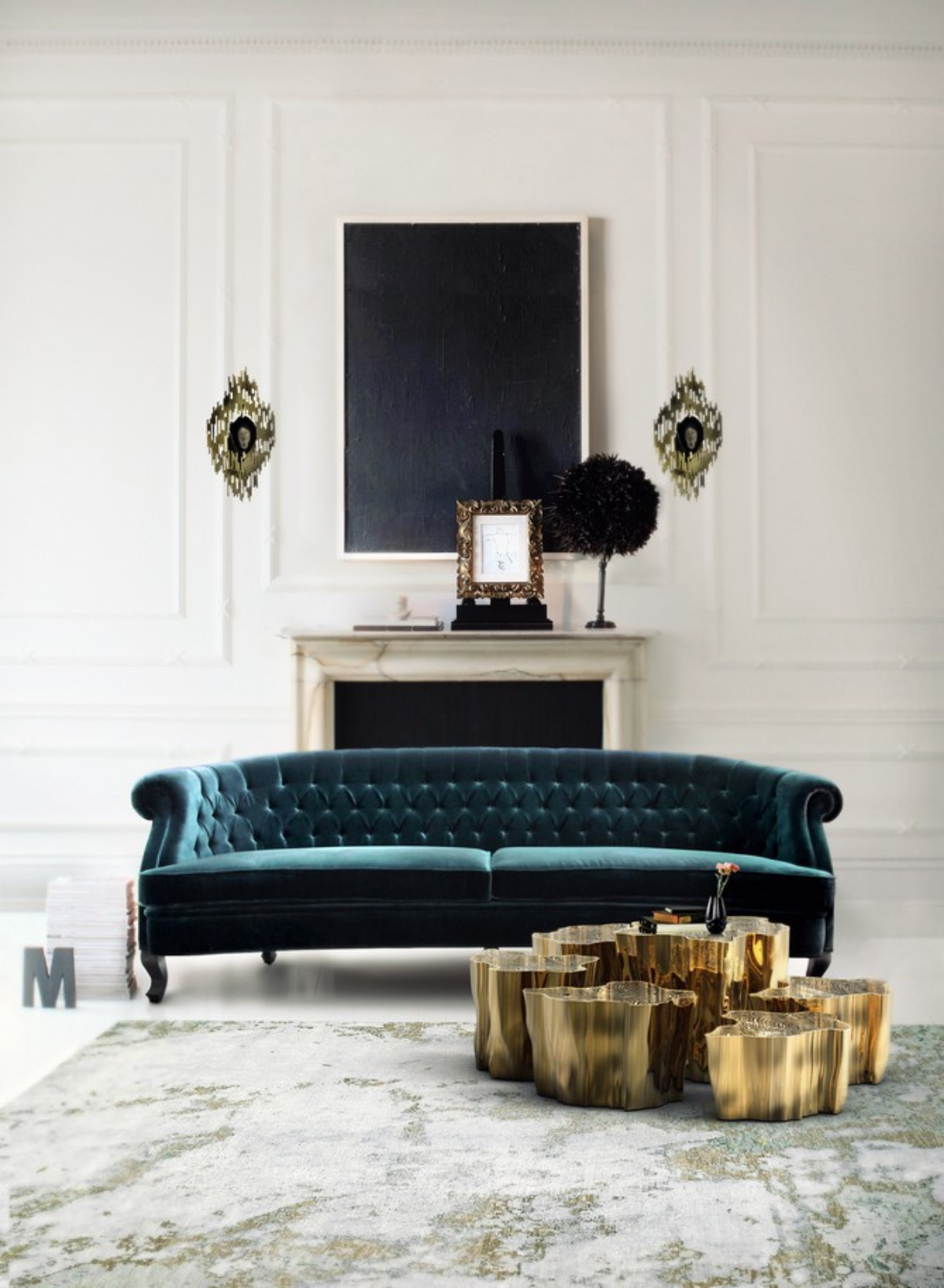 Golden Center Tables Perfect For Your Home Decor