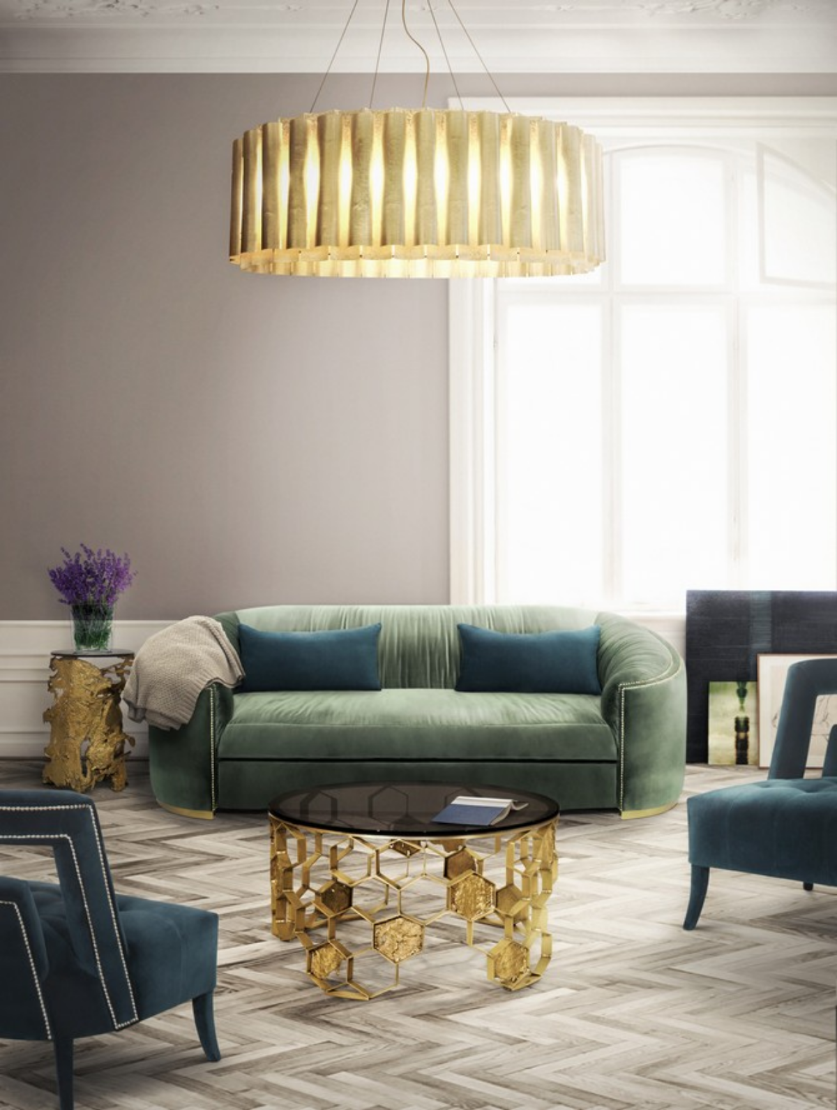 golden center tables Golden Center Tables Perfect For Your Home Decor 8