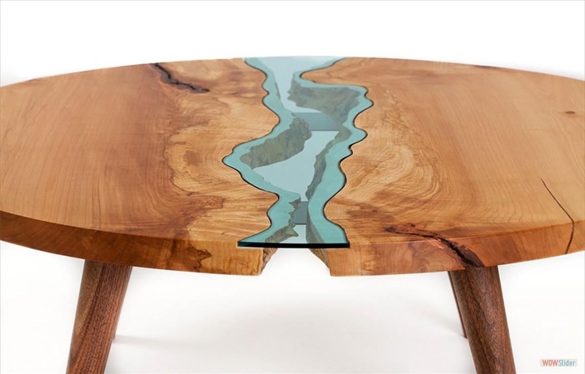 handmade pieces Greg Klassen The Creator of Handmade Pieces And Works of Art furnituredesigntabletopographygregklassen3