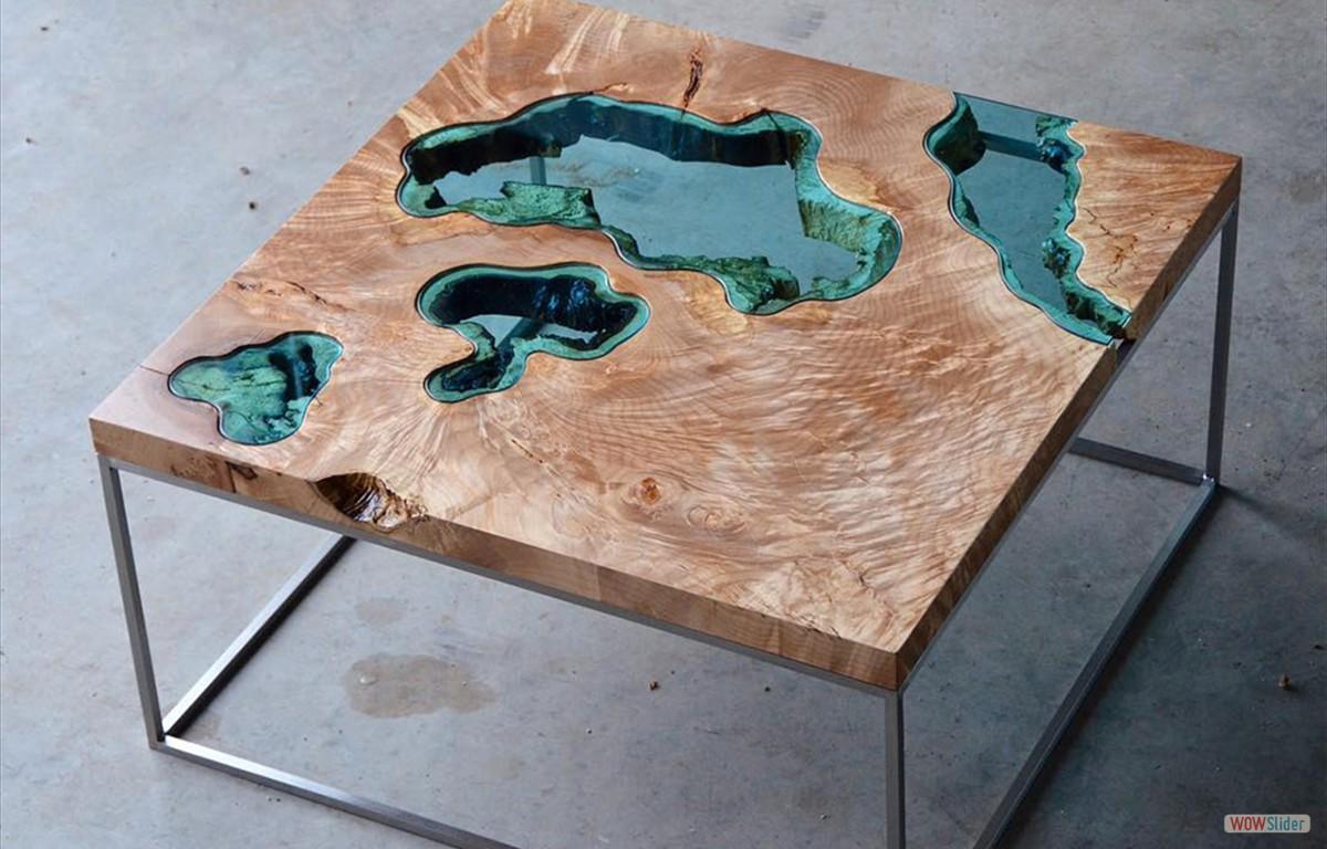 handmade pieces Greg Klassen The Creator of Handmade Pieces And Works of Art table1